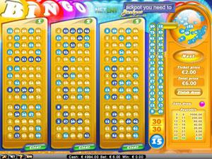Bingo fra Netent