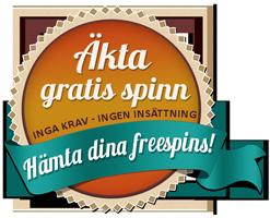Äkta freespins - direkt till din inbox