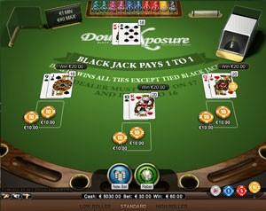NetEnt Double Exposure Blackjack