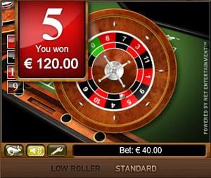 Mini Roulette från NetEnt